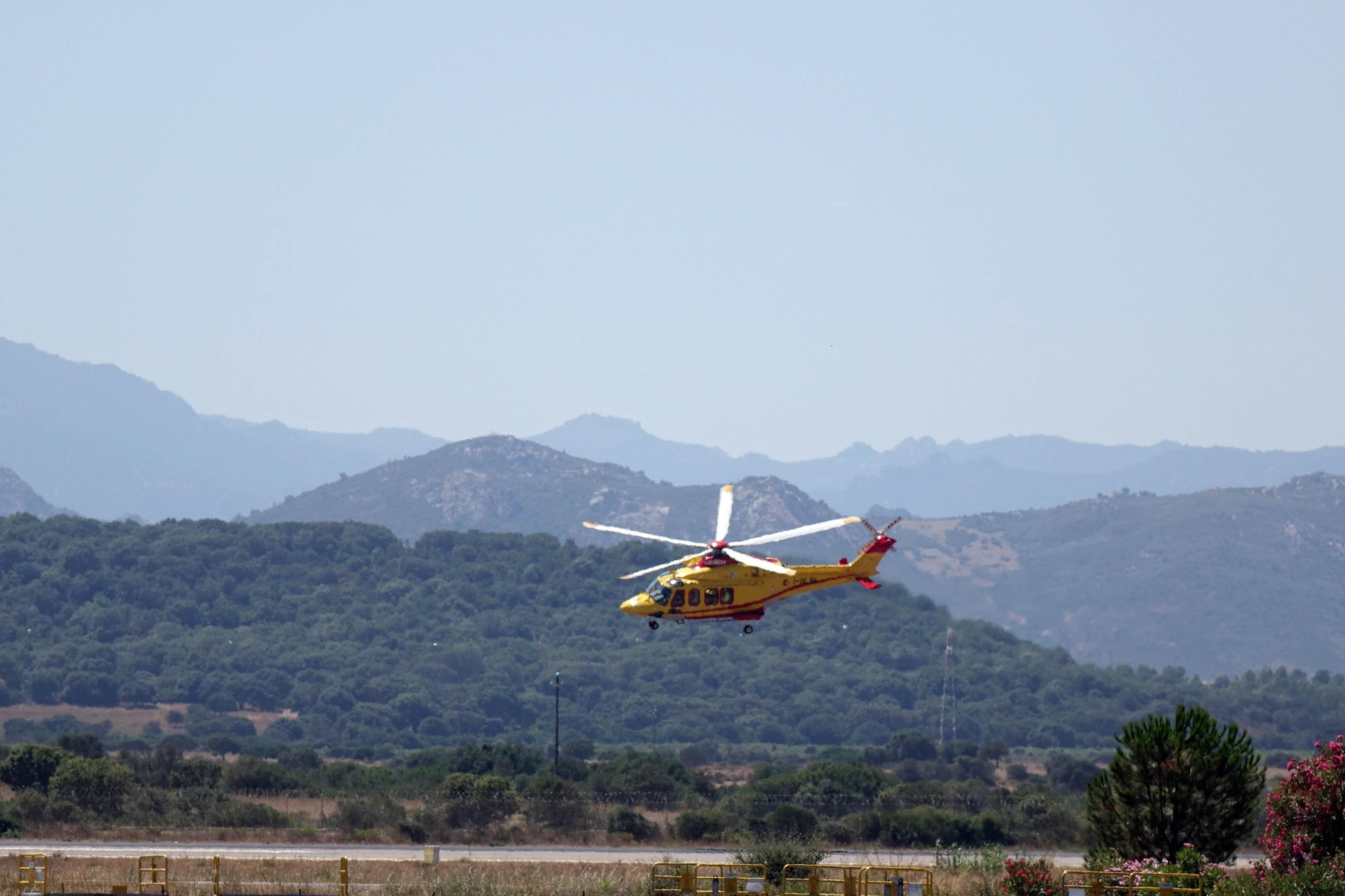 Elicottero Olbia : Elisoccorso di olbia ieri interventi effettuati in gallura