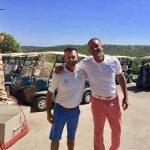 L'attore Will Smith in Costa Smeralda tra golf e relax