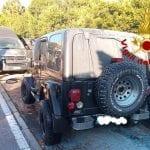 Un'auto prende fuoco ad Abbiadori, tanta paura ma nessun ferito